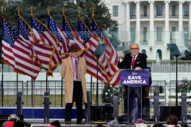Eastman and Giuliani Jan. 6 rally