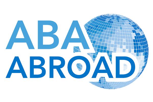 ABA Abroad logo.