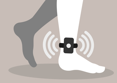 GPS ankle monitors can call and record people without