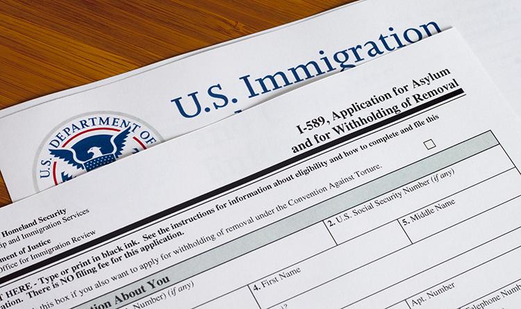 asylum paperwork