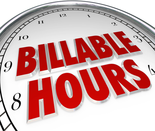 billable hours on clock
