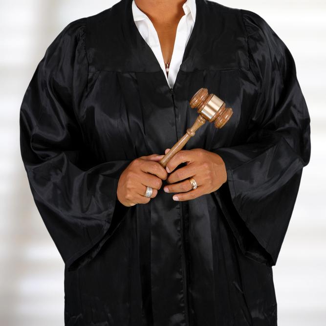 black woman judge