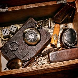 Box of mementos