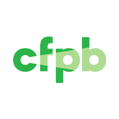 Consumer Financial Protection Bureau logo.