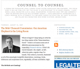 Counsel to Counsel