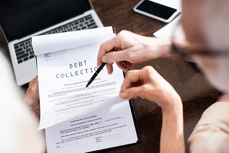 debt collection efforts