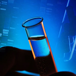 Test tube and dna results