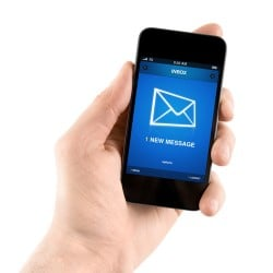email smartphone