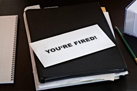 fired letter