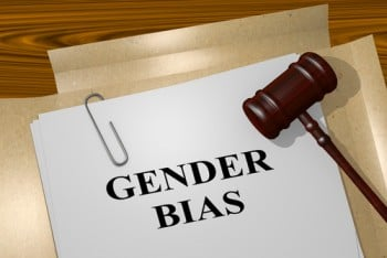 gender bias documents and gavel