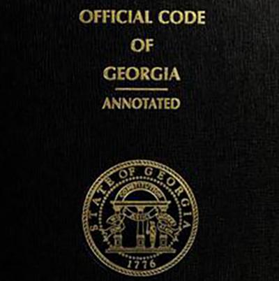 Georgia Code book