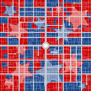 gerrymandering map