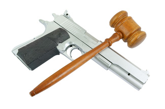 gun and gavel