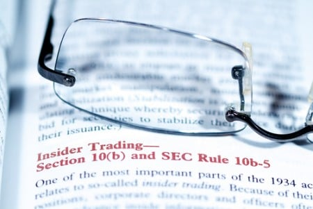 insider trading with glasses