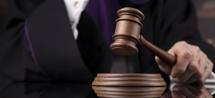 judge and gavel.