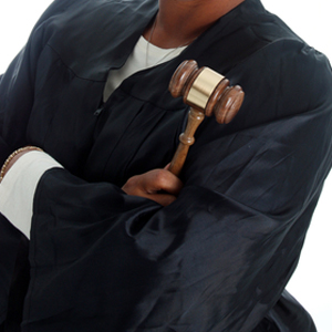 judge in robe
