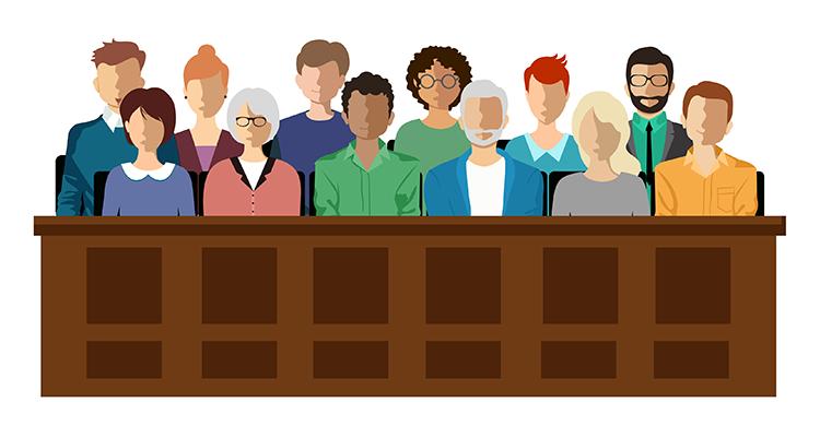 diverse jury box
