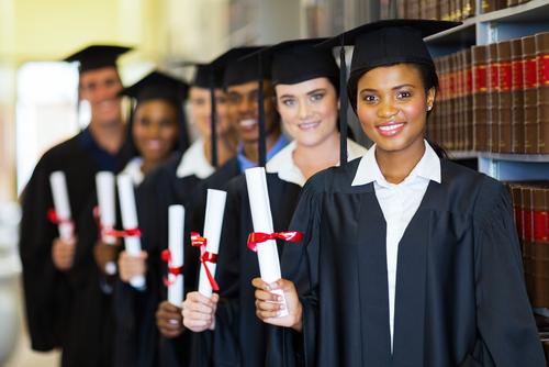 law student graduates