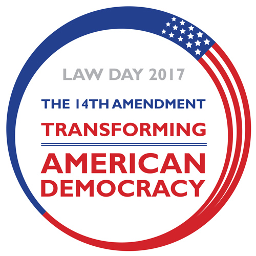 Law Day logo.