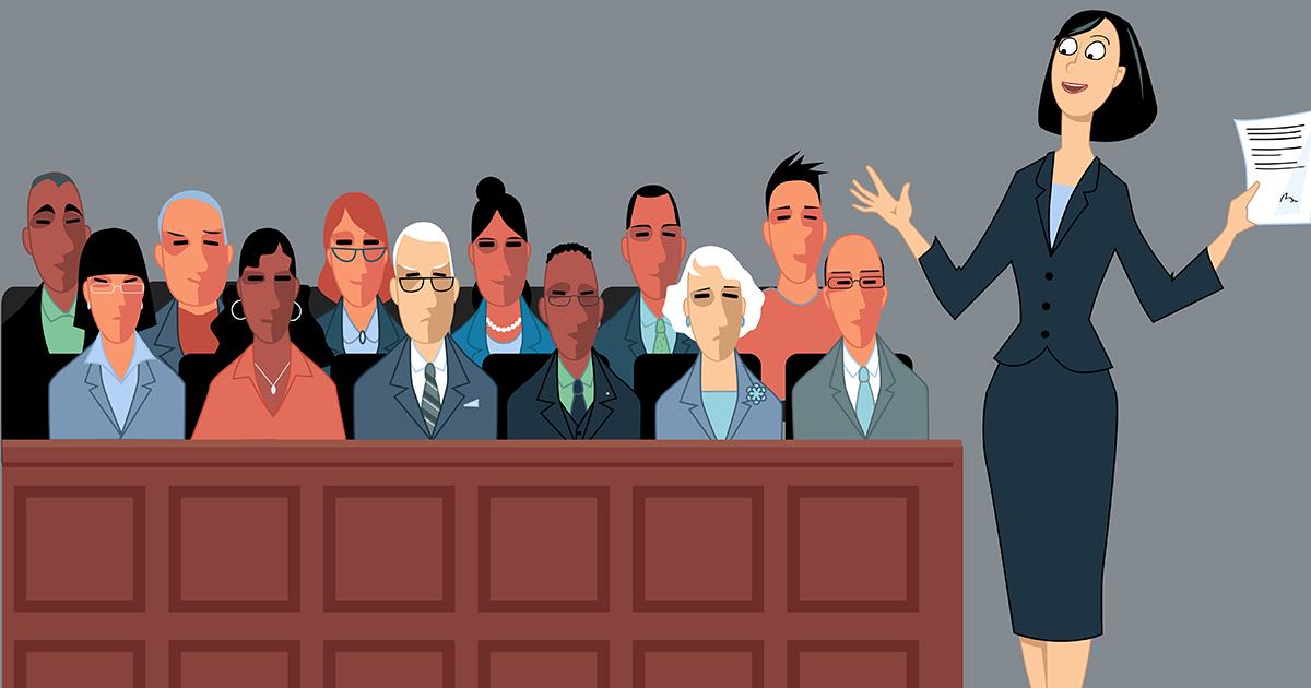 lawyer jury