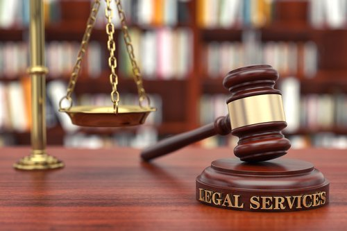 legal services and gavel