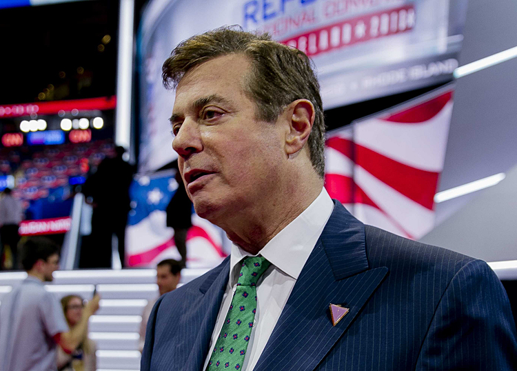 Paul Manafort at 2016 Republican National Convention.