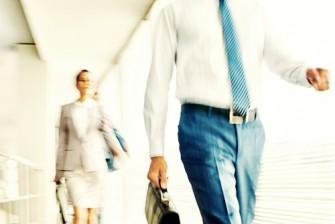 men women office silhouette