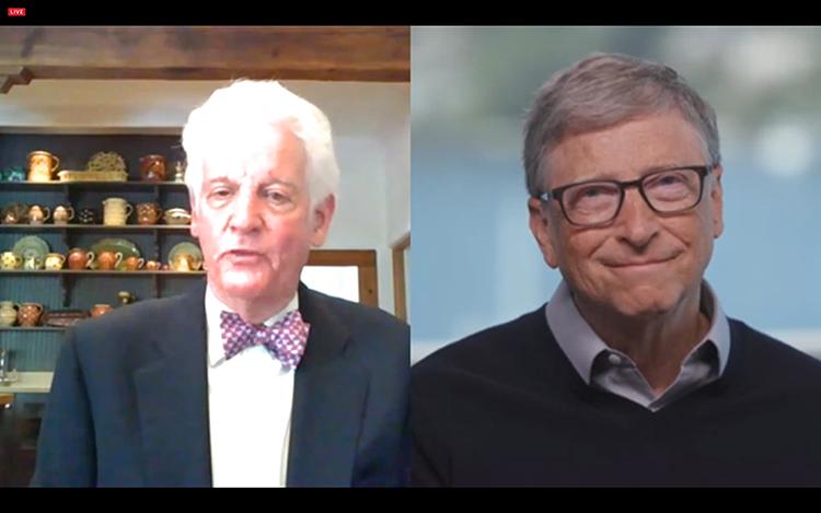 Bill Neukom and Bill Gates