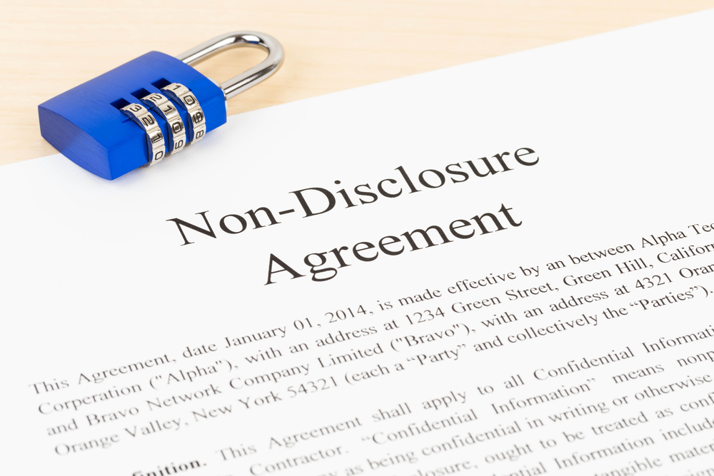 nondisclosure agreement