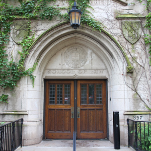 Entrance to the Northwestern University School of Law
