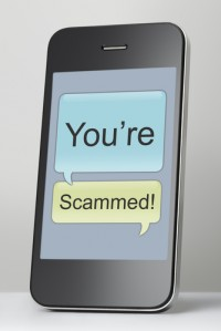 phone text scam