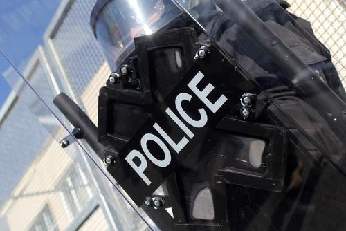 police riot gear