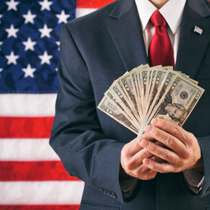 Political money.