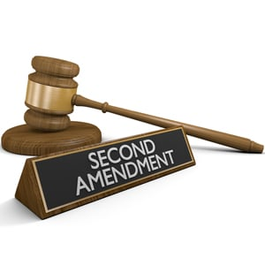 second amendment and gavel