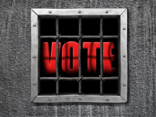 voting in prison