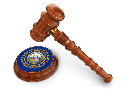 New Hampshire gavel