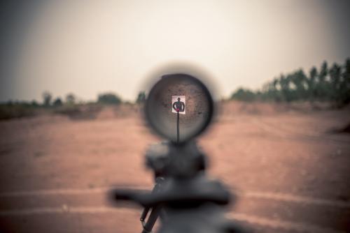 Army reservist, ACLU drop lawsuit over gun range's anti-Muslim sign