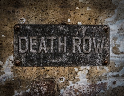 death row sign