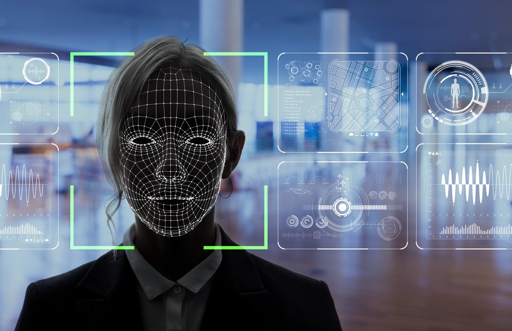facial recognition concept