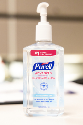 Purell bottle