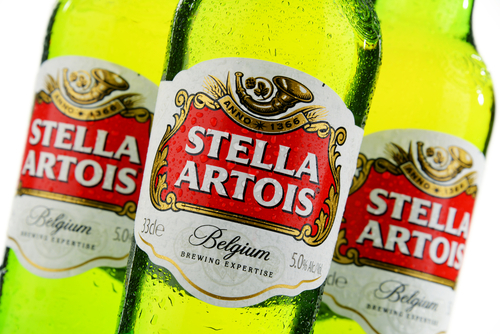 shutterstock_Stella Artois beer