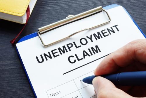 shutterstock_Unemployment claim form