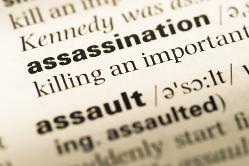assassination words dictionary