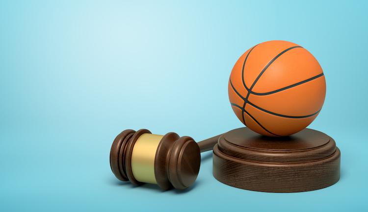 shutterstock_basketball and gavel