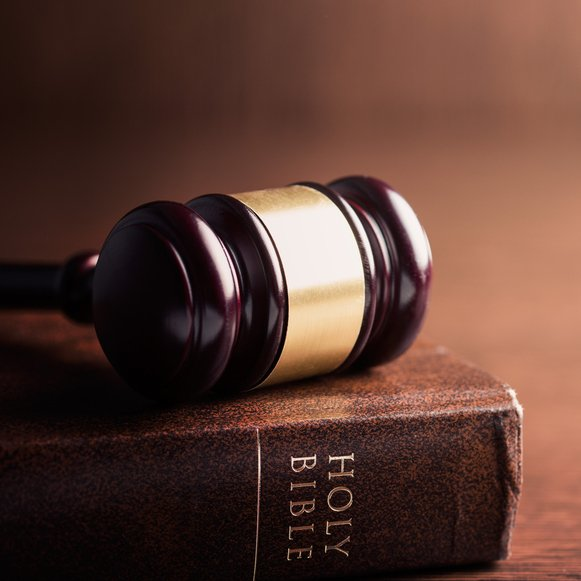bible and gavel