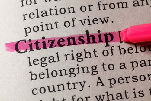 citizenship dictionary words