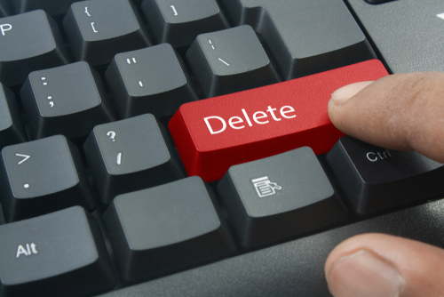 shutterstock_delete key