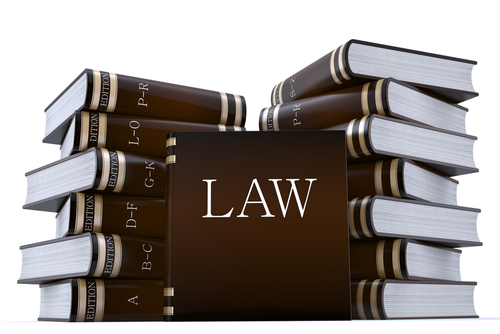 disbarment concept with books