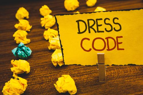 shutterstock_dress code sign