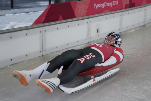 luger in PyeongChang